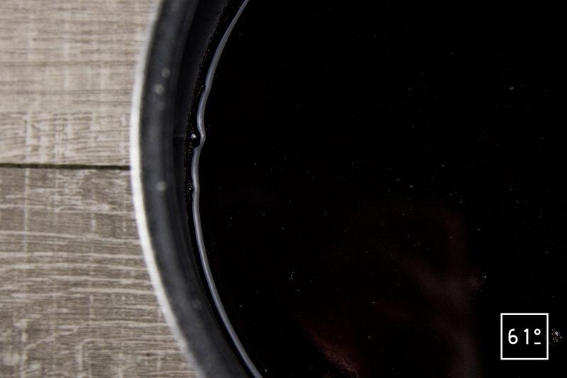 Tartare de betteraves lactofermentées - préparer la réduction