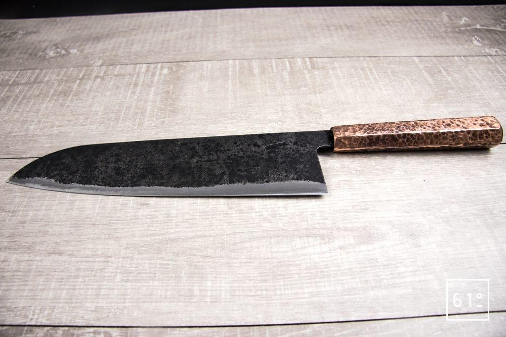 Le santoku de Thomas Galice - le couteau en entier