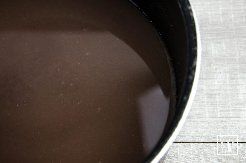 Faux filet de Galice aux champignons et rattes - faire réduire la sauce