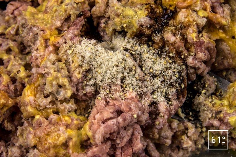 Pâté aux échalotes et oignons lactofermentés - ajouter les autres ingrédients