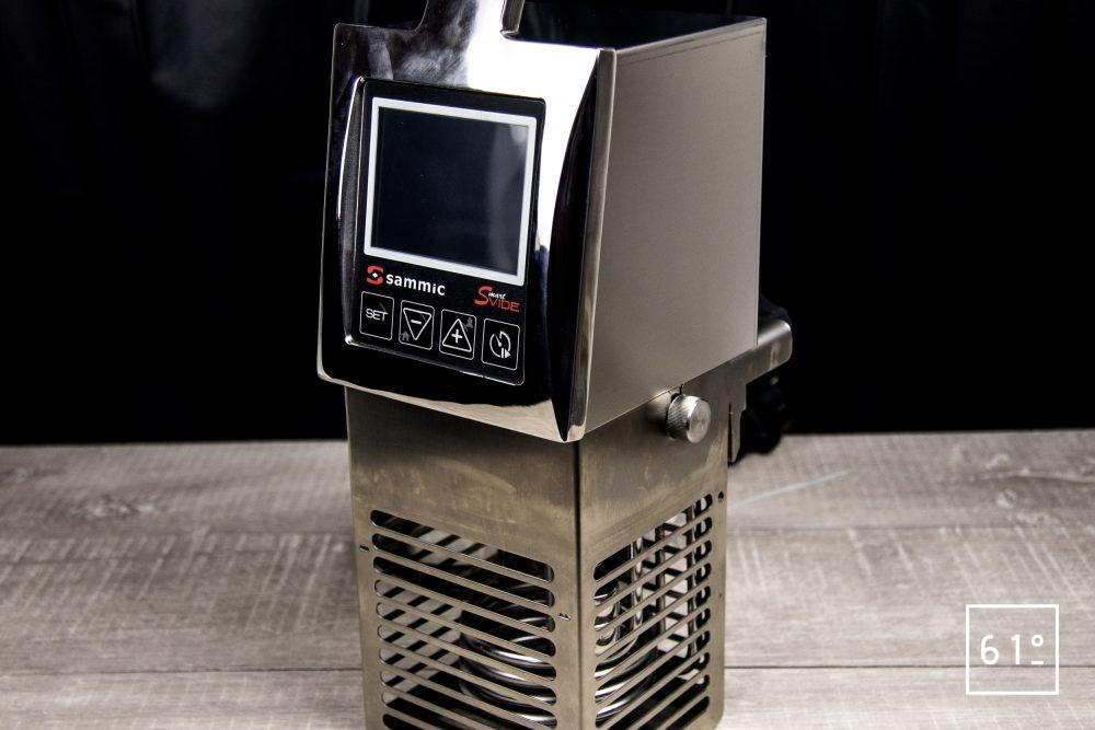 review du thermoplongeur Smart Vide 8+ de Sammic