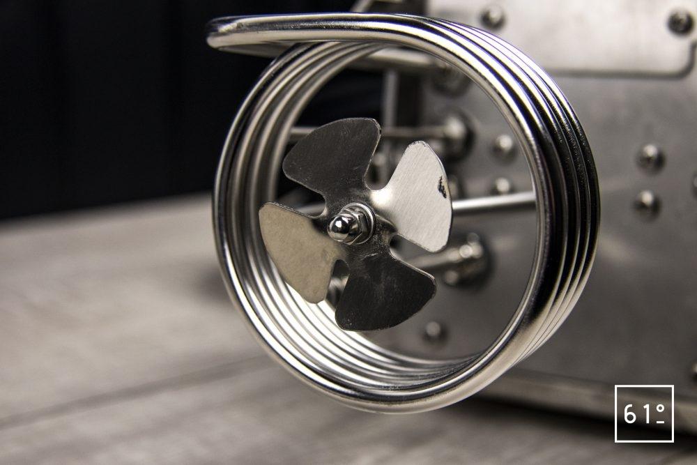 Thermoplongeur SmartVIde 8 plus de chez Sammic - turbine de brassage d'eau