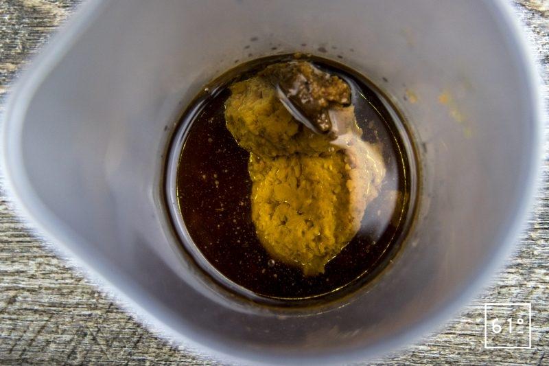 Vinaigrette au miso - rassembler les ingrédients
