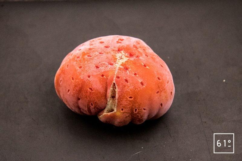 Eau de tomate - congeler la tomate
