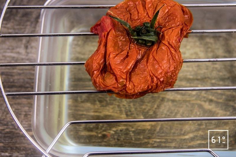 Eau de tomate - laisser décongeler