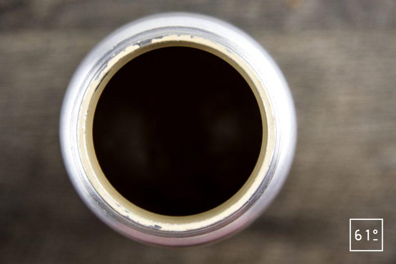 Friture d'ablettes au pimenton de la Vera - mettre la pâte sous pression au siphon