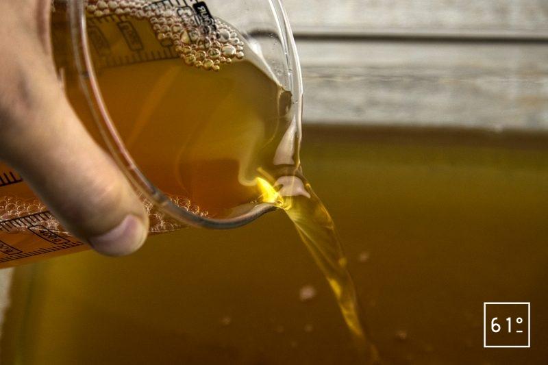 Vinaigre de bourbon et de rhum - repiquer le vinaigre