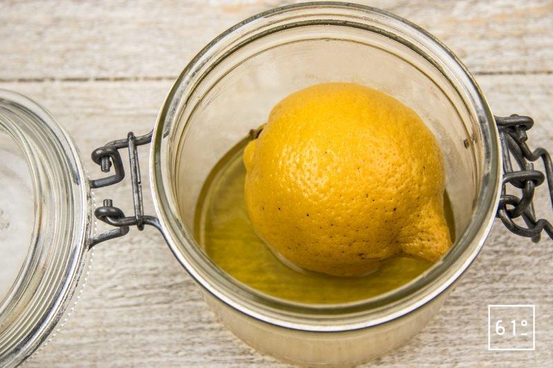 Crème de citron - cuire