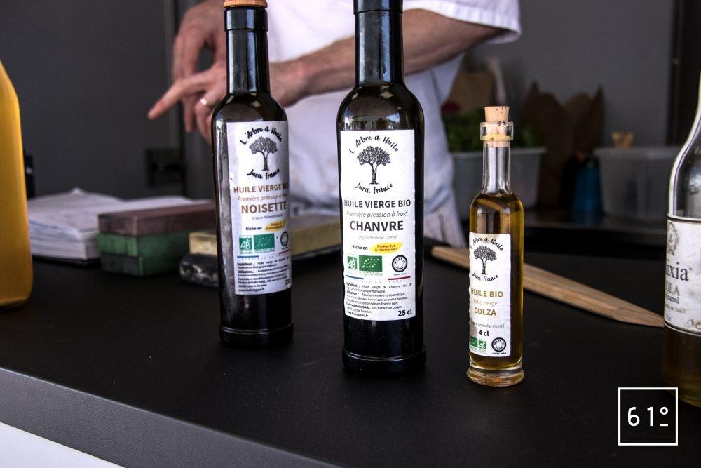 L'Eatinérant - dégustation d'huiles locales