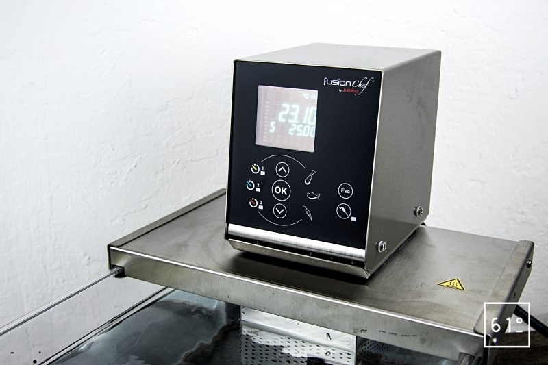 Test du thermoplongeur Diamond de FusionChef Julabo