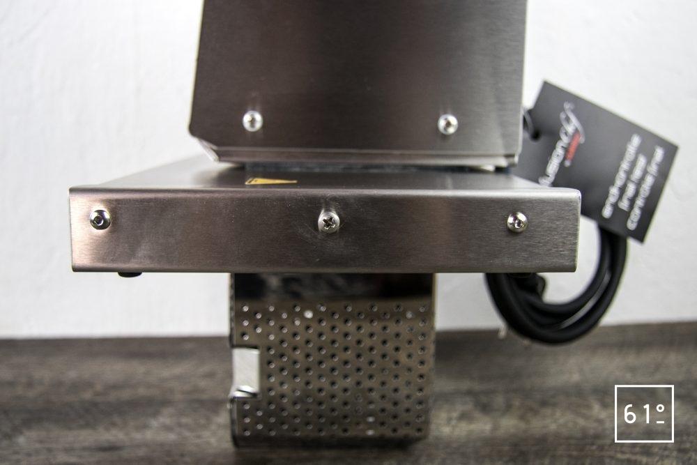 Test du thermoplongeur Diamond de FusionChef Julabo - de côté