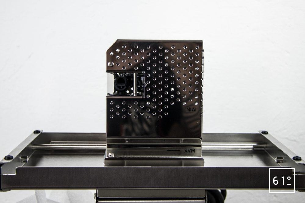 Test du thermoplongeur Diamond de FusionChef Julabo - la cage de protection
