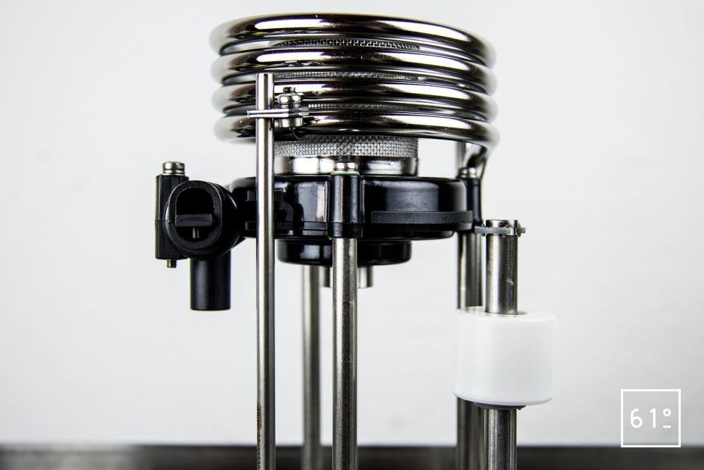 Test du thermoplongeur Diamond de FusionChef Julabo - le système de chauffe et de brassage