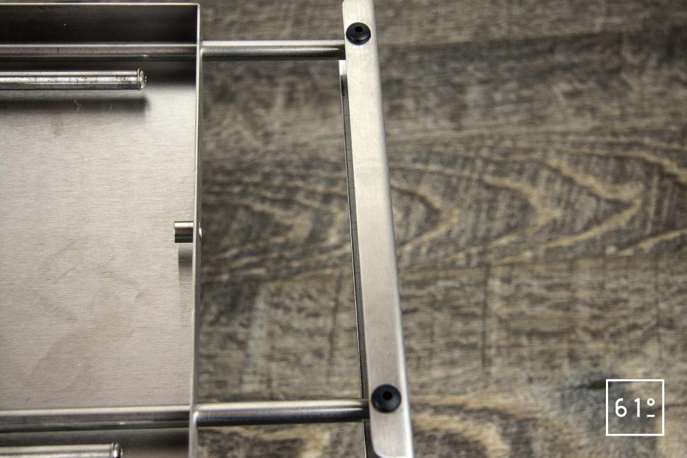 Test du thermoplongeur Diamond de FusionChef Julabo - le système de fixation ouvert
