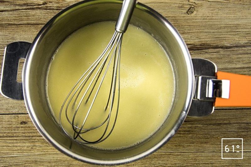 Beurre liquide au saké