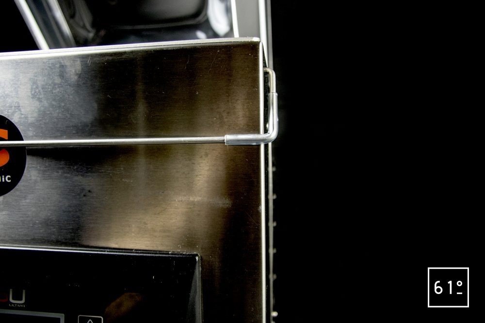 Emballeuse sous vide à cloche Sammic SU 310 - accroche du capot