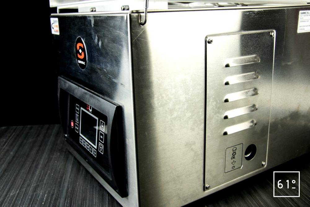 Emballeuse sous vide à cloche Sammic SU 310 - de côté
