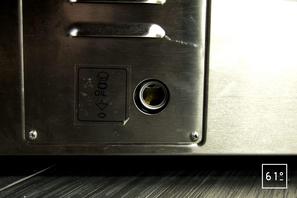 Emballeuse sous vide à cloche Sammic SU 310 - huile