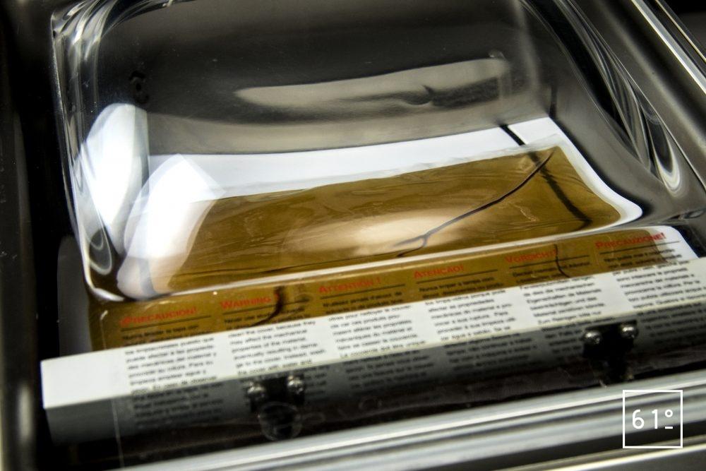 Emballeuse sous vide à cloche Sammic SU 310 - mise sous vide d'un liquide