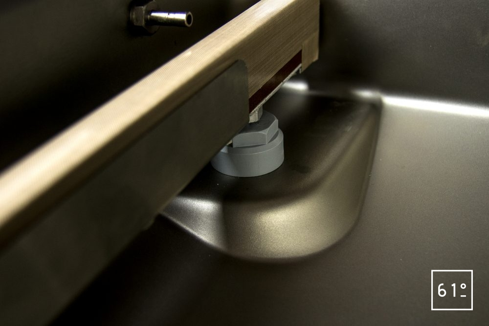 Emballeuse sous vide à cloche Sammic SU 310 - réglette de scellage