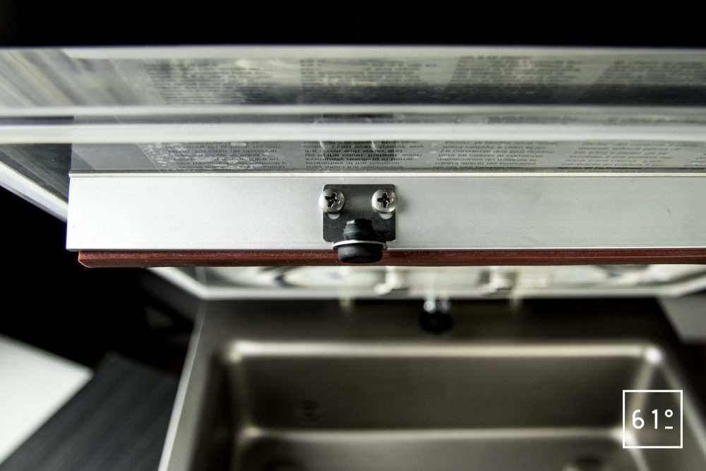 Emballeuse sous vide à cloche Sammic SU 310 - tampon