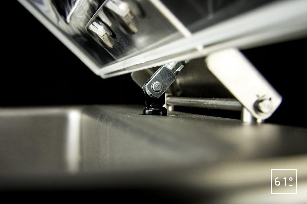 Emballeuse sous vide à cloche Sammic SU 310 - verin avec amortisseur