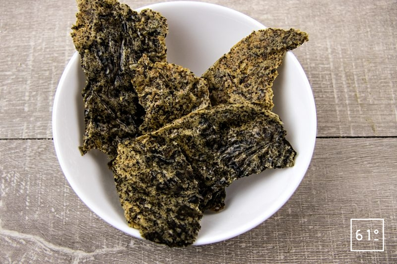 Crackers d'algues