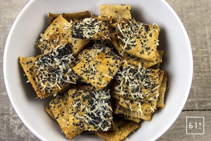 Crackers pavot Osso Iraty