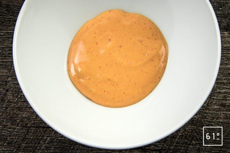 Sauce type bourguignonne