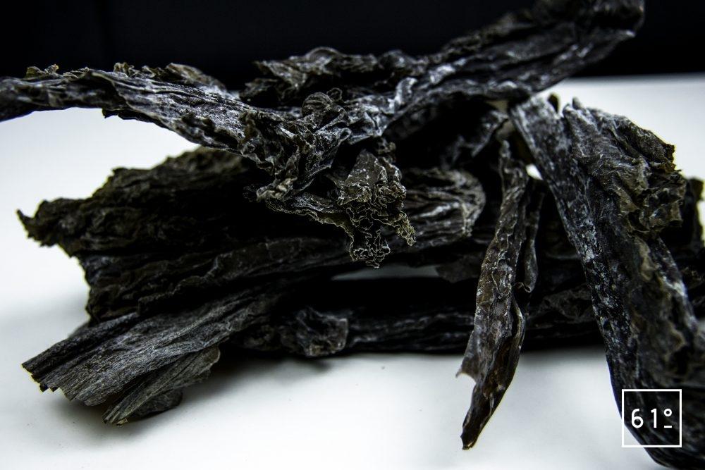 Algue Kombu détail