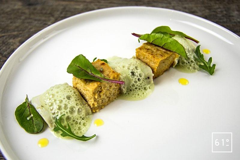 Râbles de lapin à la moutarde à l'estragon