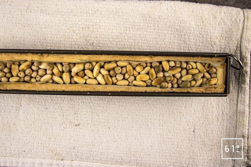 Pâté croûte de canard aux pruneaux et au Rivesaltes - cuire la pâte