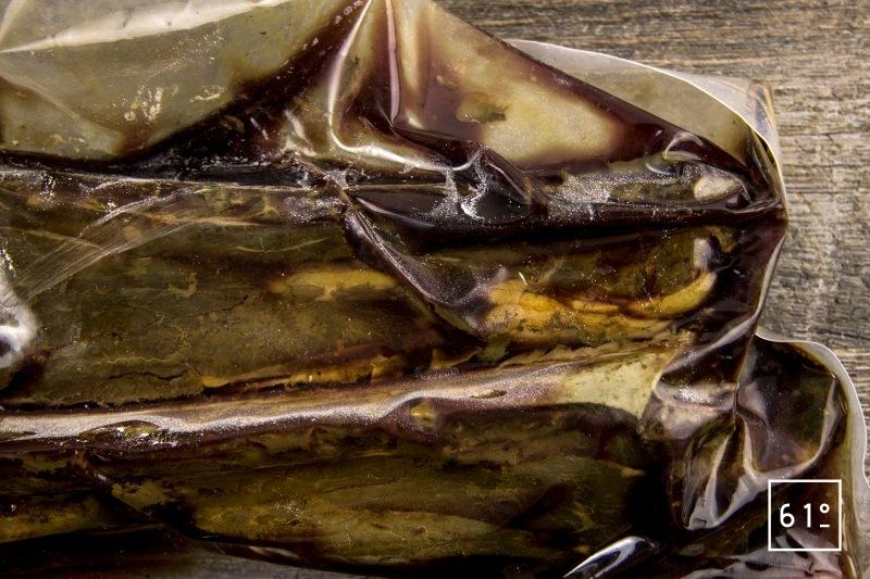 Plat de côte de bœuf basse température - cuire pendant 72 h