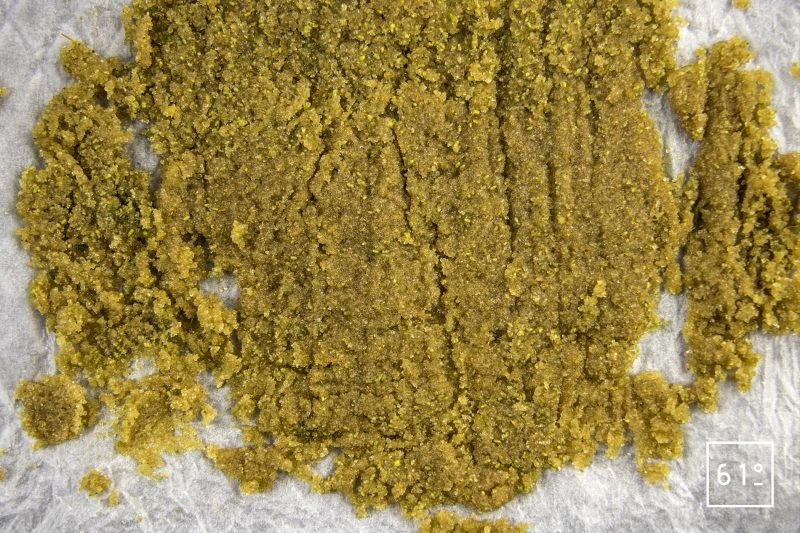 Sucre aux fleurs de sureau - déshydrater