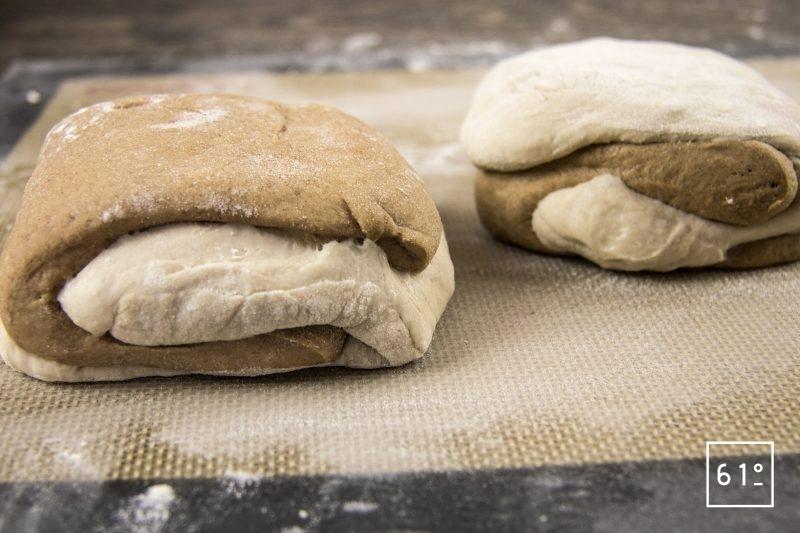 Pain tigre - former les pains