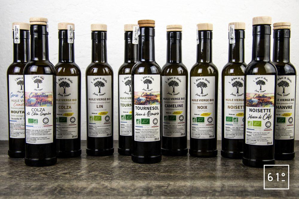 Les huiles de l'arbre à huile