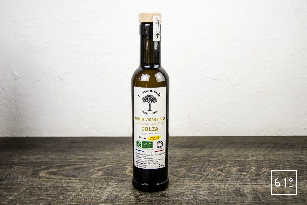 Les huiles de l'arbre à huile- huile de colza