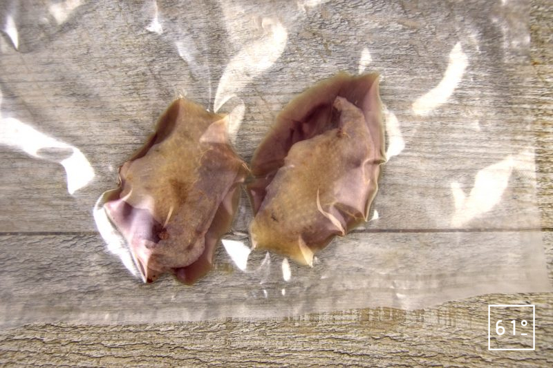 Pièce de volailles en III actes - caille, pigeon, canard - mettre sous vide les filets de caille