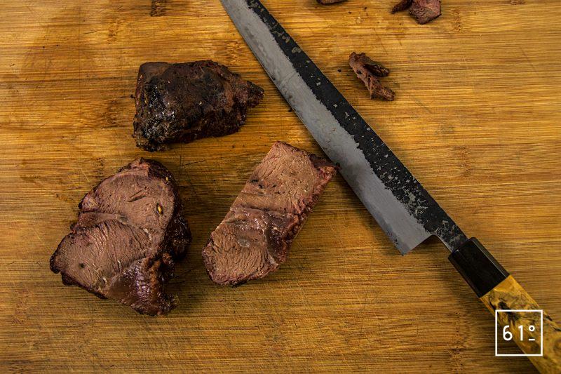 Joue de bœuf basse température sous vide