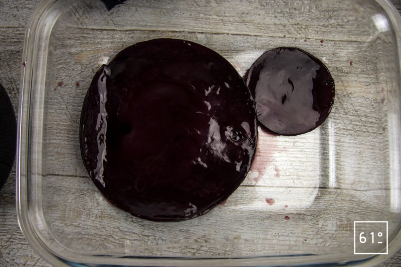 Kombucha de sirop de sureau - récupérer les mères de kombucha