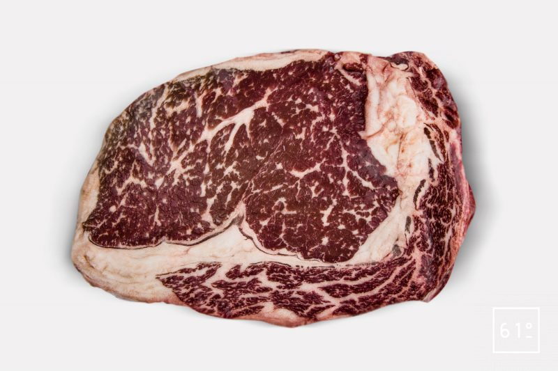 Composition de la viande persillage et marbrage