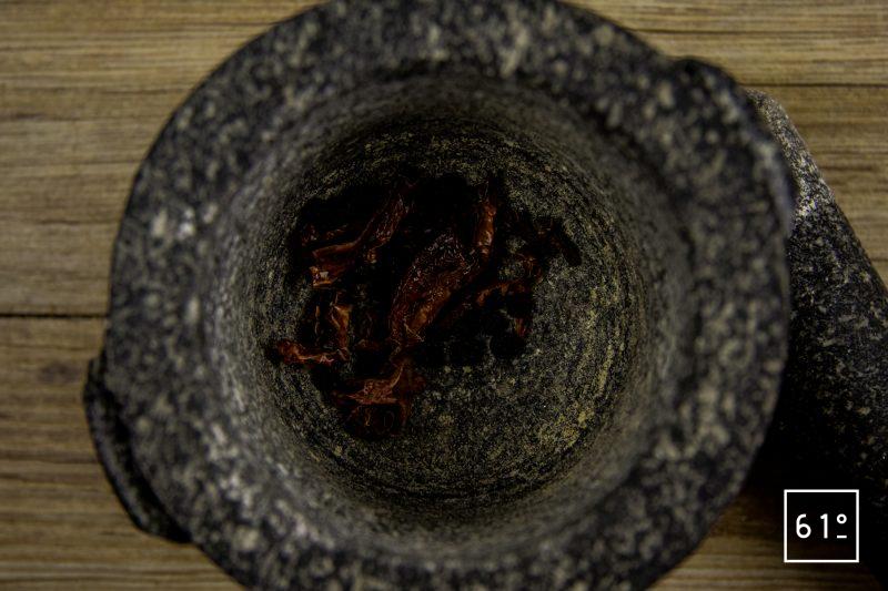 Mélange d'épices tex mex - piler