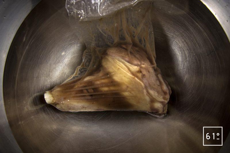 Souris d'agneau - mettre sous vide en sac rétractable la souris d'agneau