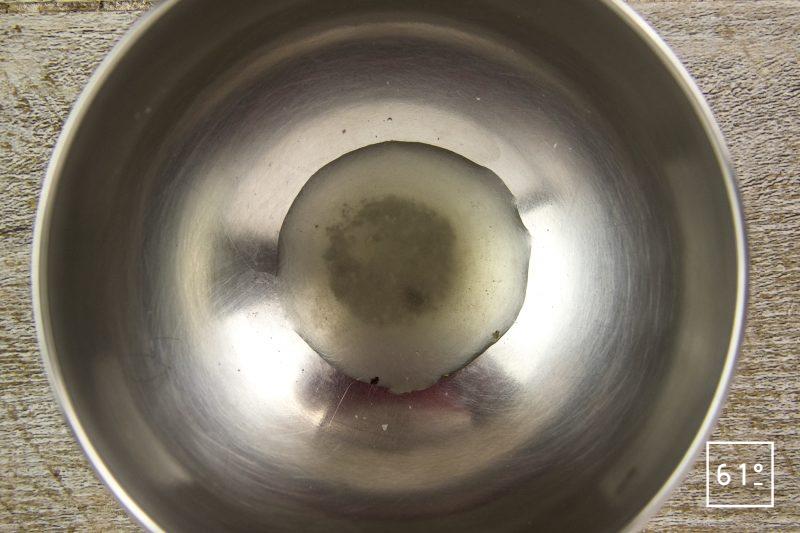 Fromage sec de kéfir typé Gruyère - préparer la saumure