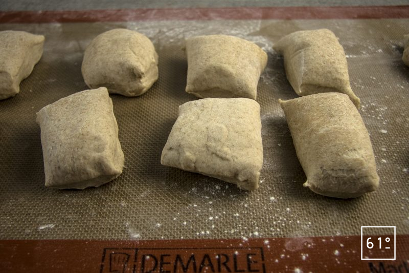 Muffin anglais au levain - portionner