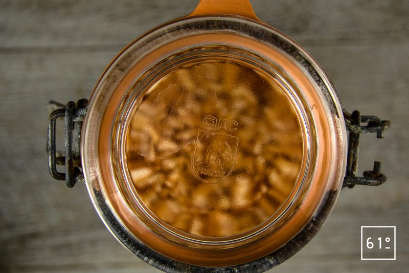 Kimchi de chou au Gochujang - laisser fermenter