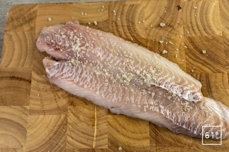 Fish and chips - frotter au sel les filets