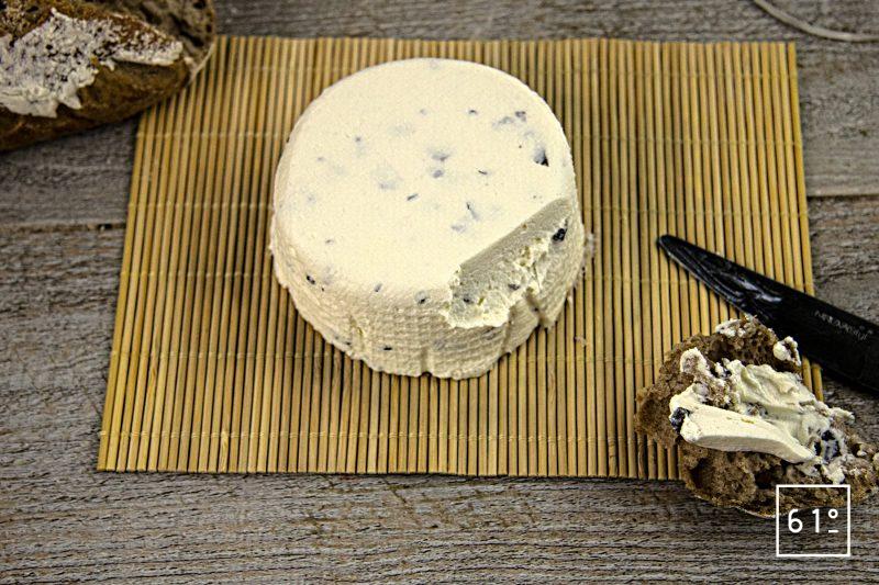 Fromage frais de kéfir à la truffe
